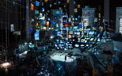 """Fondation Cartier pour l'Art Contemporain: Sarah Sze """"Night into Day"""""""