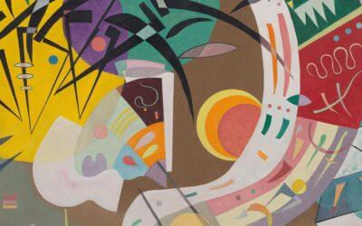 """Solomon R. Guggenheim Museum: Vasily Kandinsky """"Around the Circle"""""""