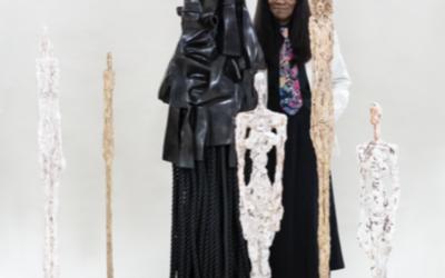 "Fondation Giacometti: Alberto Giacometti / Barbara Chase-Riboud:  ""Femmes debout de Venise / Standing Women of Venice – Femme noire debout de Venise / Standing Black Woman of Venice"""